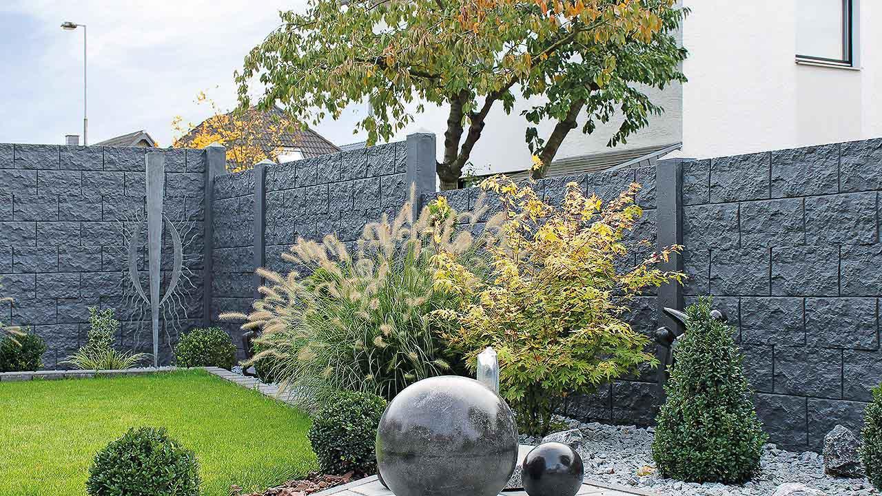 Becker Betonzaun betonzaunprofi viel mehr als nur der betonzaun standard